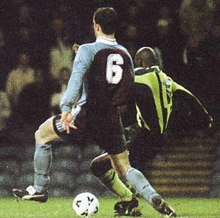 burnley away 1998 to 99 1st goater goal