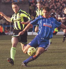 chesterfield away 1998 to 99 action