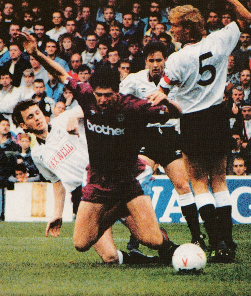 derby away 1990 to 91 action4