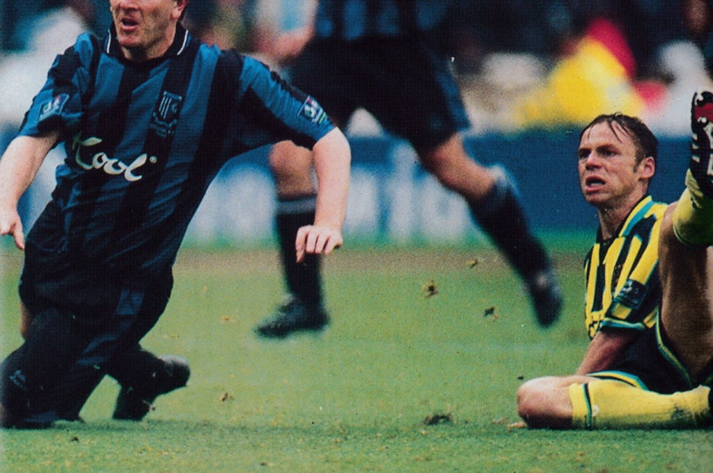 gillingham play off 1998 to 99 dickov goal5