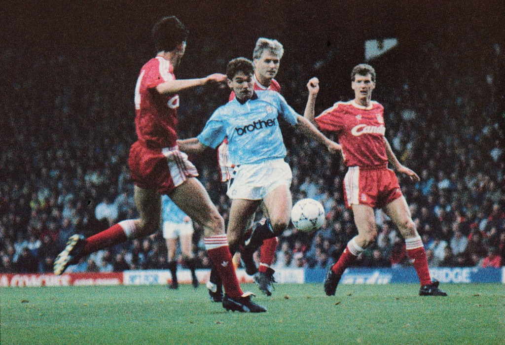 liverpool away 1990 to 91 action5