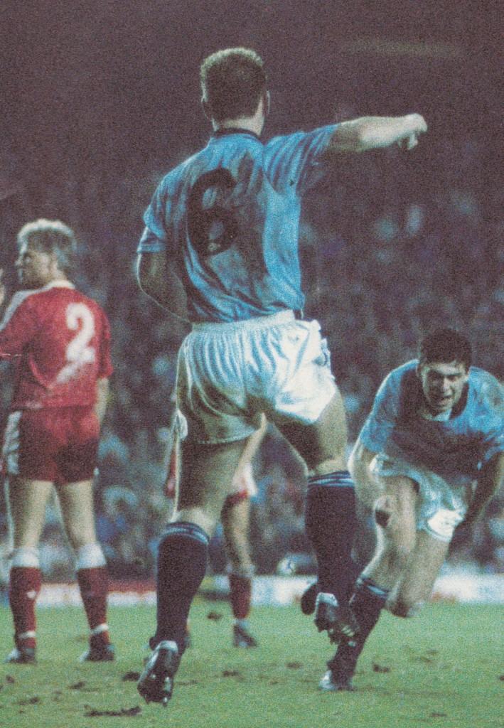 liverpool away 1990 to 91 quinn goal 6