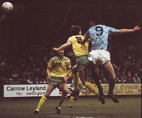 norwich away 1990 to 91 quinn goal