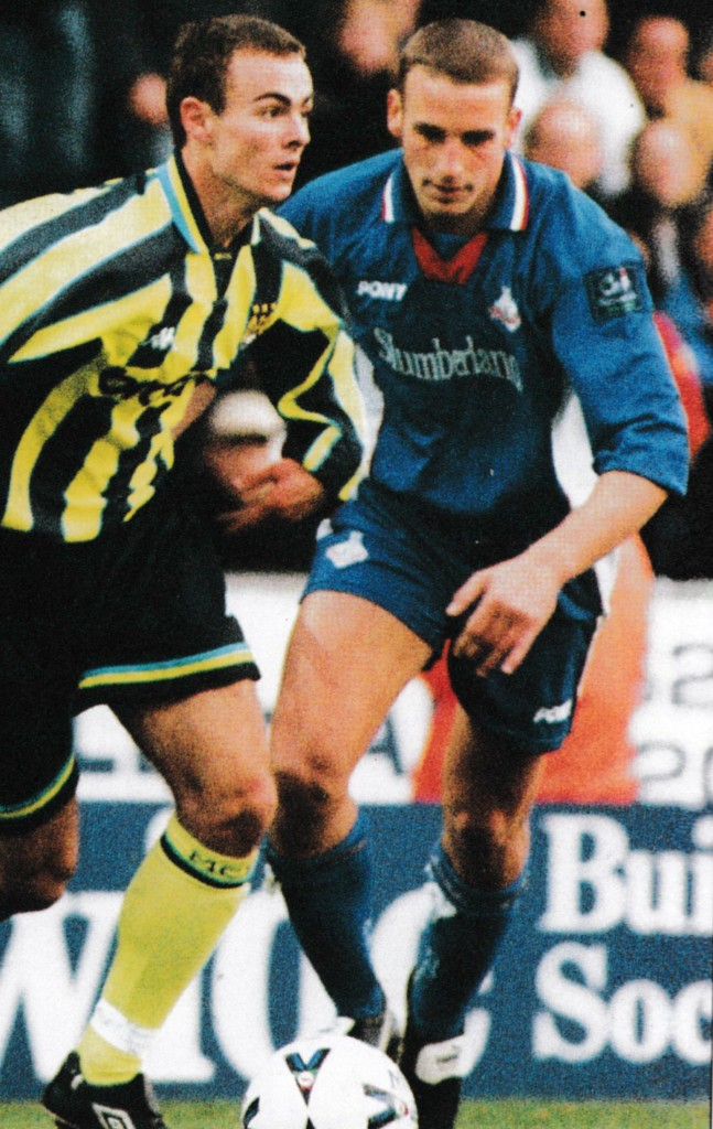 oldham away 1998 to 99 action6
