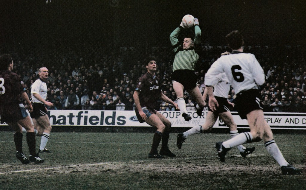 port vale fa cup 1990 to 91 action6