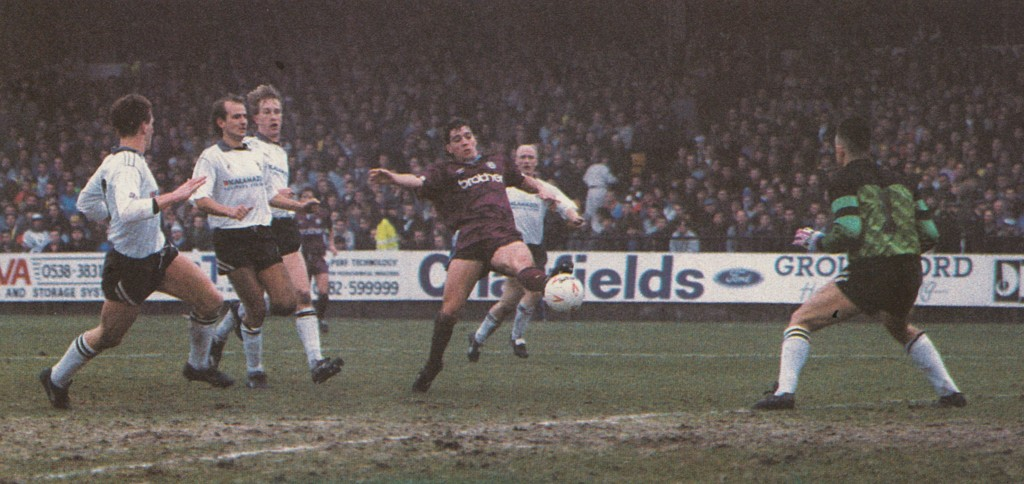 port vale fa cup 1990 to 91 action7