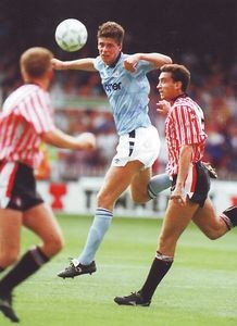 sheff utd away 1990 to 91 acttion