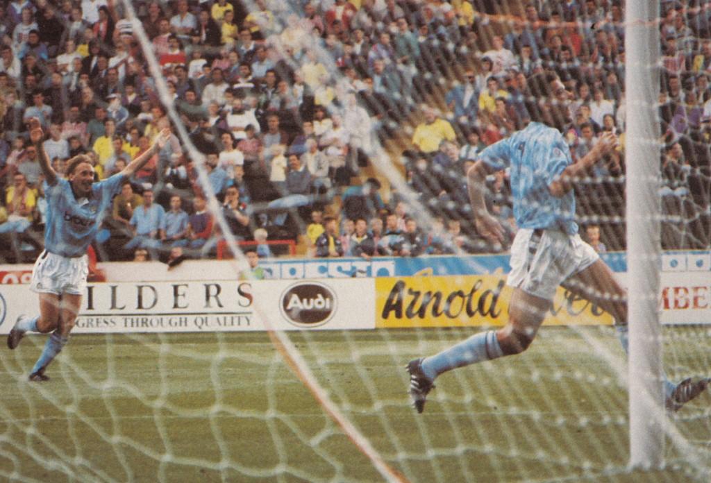 sheff utd away 1990 to 91 white goal4