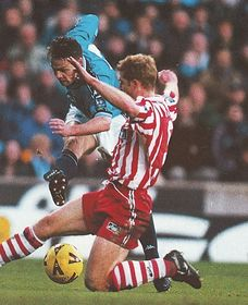 stoke home 1998 to 99 action