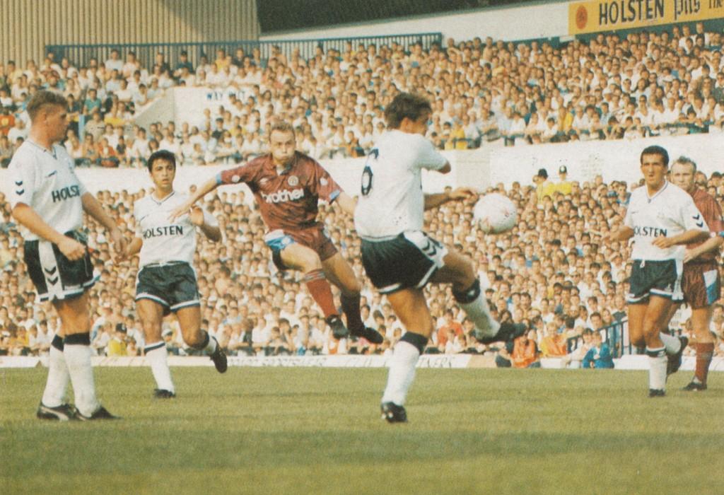 tottenham away 1990 to 91 action7