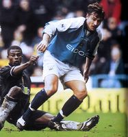 aston villa home 2000 to 01 action