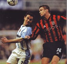 coventry away 2000 to 01 action