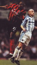 coventry away 2000 to 01 action2
