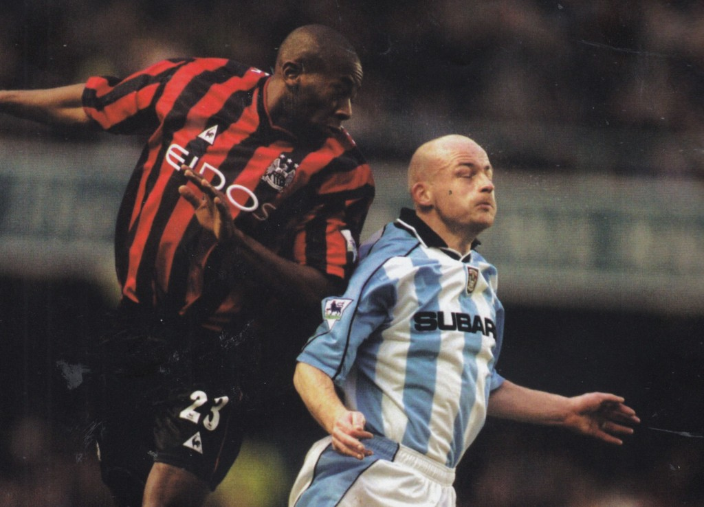coventry away 2000 to 01 action9