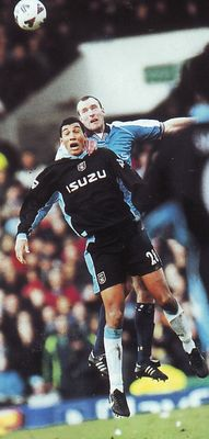 coventry home fa cup 2000 to 01 action