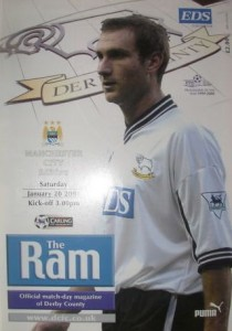 derby away 2000 to 01 prog