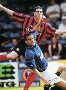 gillingham friendly 2000 to 01 action