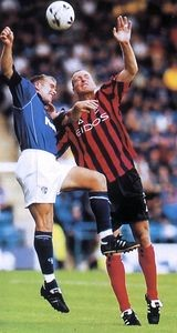 gillingham friendly 2000 to 01 action2