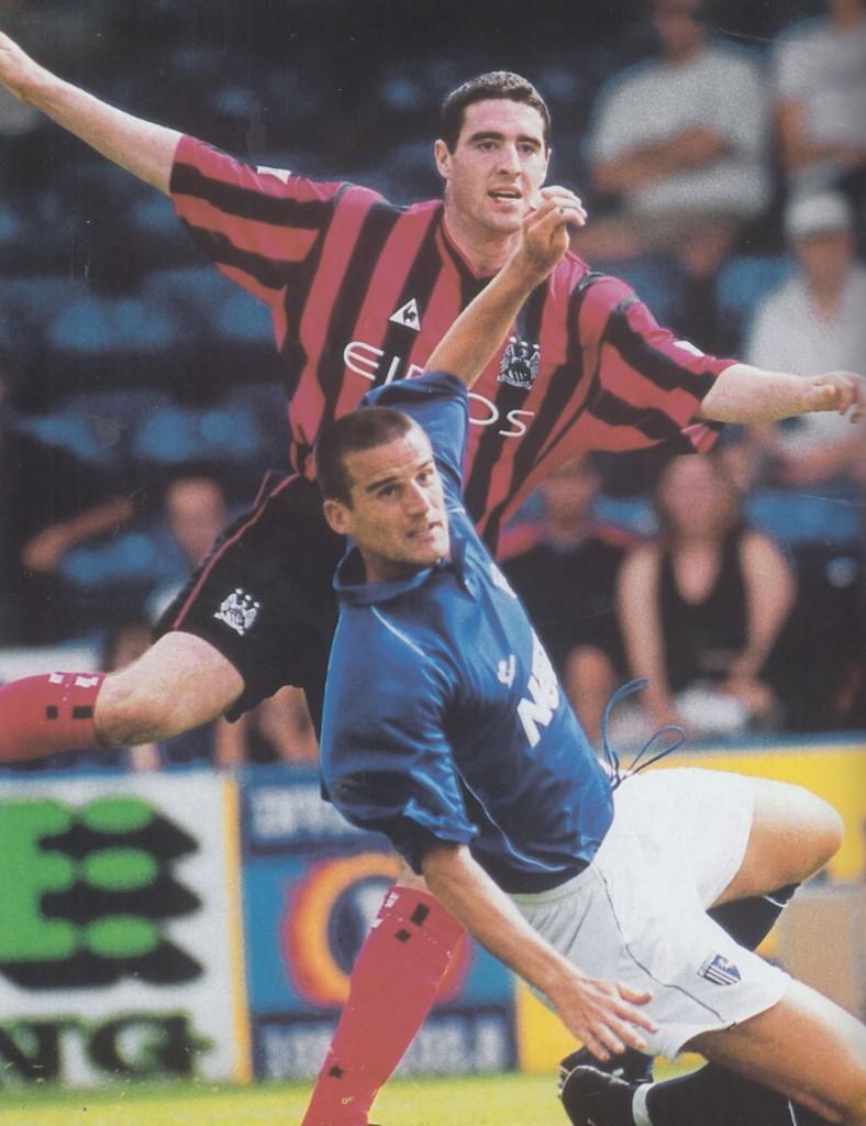 gillingham friendly 2000 to 2001 acion8