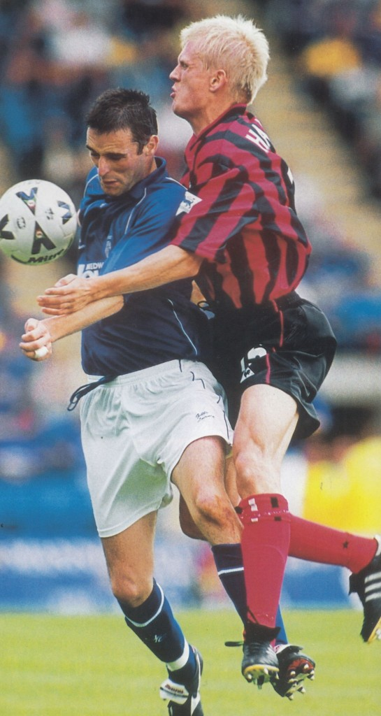 gillingham friendly 2000 to 2001 action6