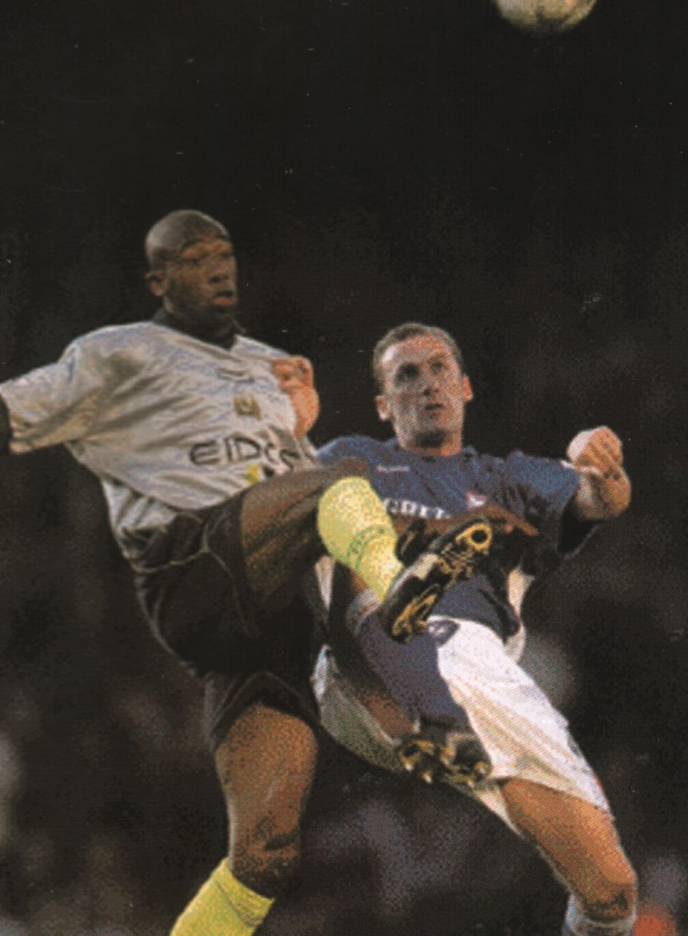 ipswich away 2000 to 01 action