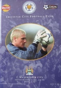 leicester away 2000 to 01 prog