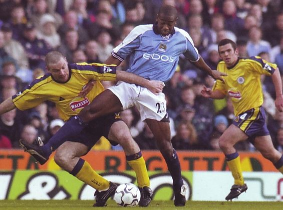 leicester home 2000 to 01 action
