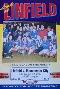 linfield 2000 to 01 prog