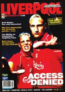 liverpool away 2000 to 01