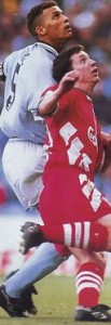 liverpool home 1993 to 94 action