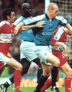 middlesbrough home 2000 to 01 action