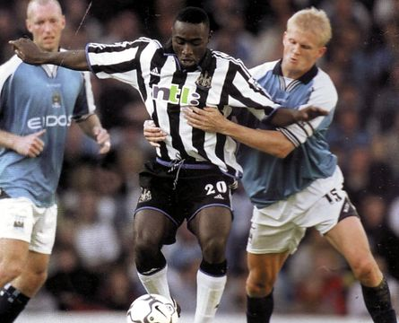 newcastle home 2000 to 01 action