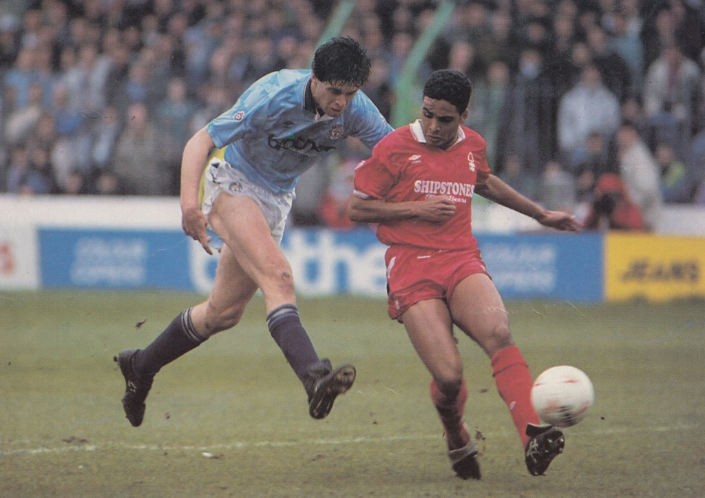nottingham forest home 1990 to 91 action4