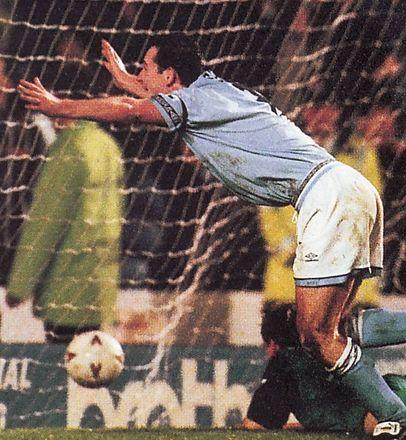 oldham hom 1993 to 94 sheron goal