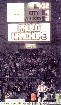 sunderland home 2000-01 scoreboard