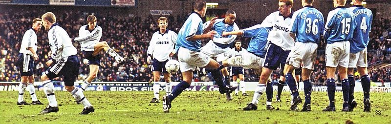 tottenham home 2000 to 01 action