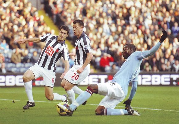 west brom away 2010 to 11 1st balotelli goal