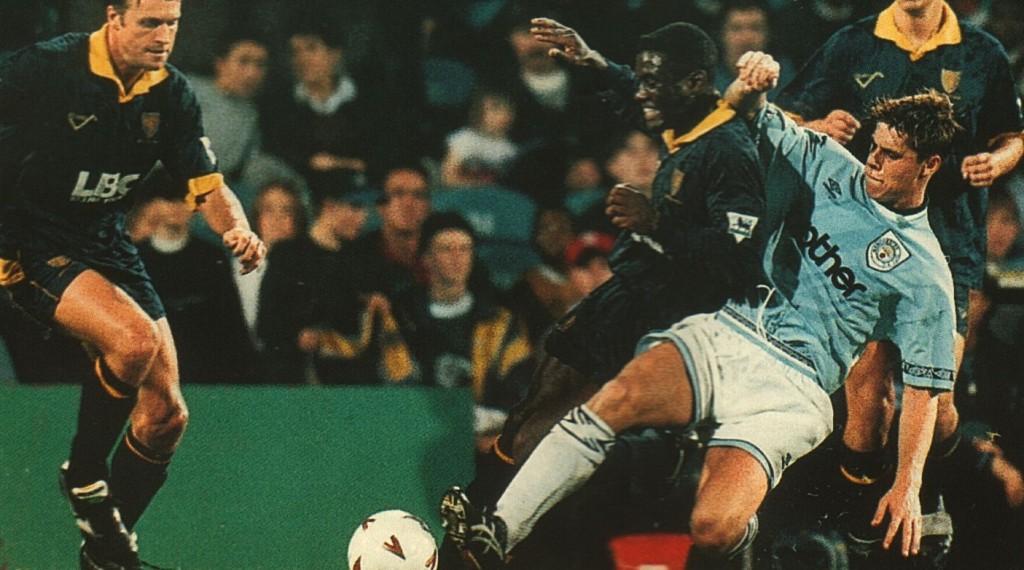 wimbledon away 1993 to 94 action