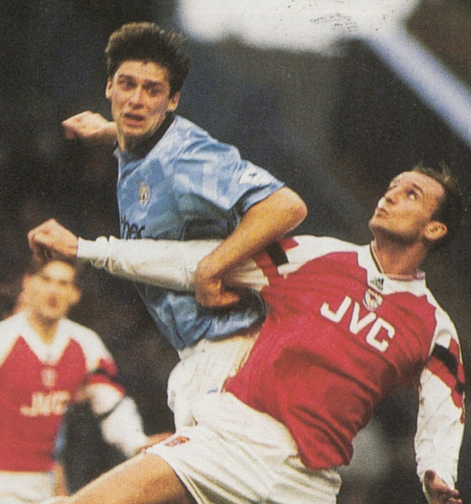 arsenal home 1992 to 93 action5