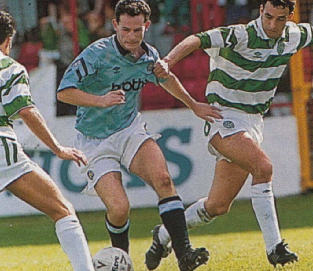 celtic 1992 to 93 action5