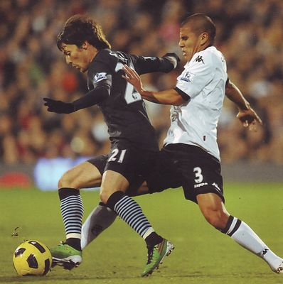 fulham away 2010 to 11 action