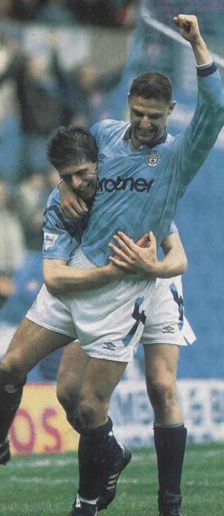 ipswich home 1992 to 93 vonk goal2