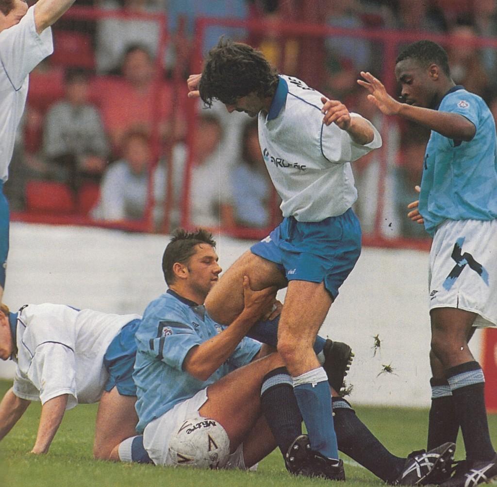 irish league 1992 to 93 action