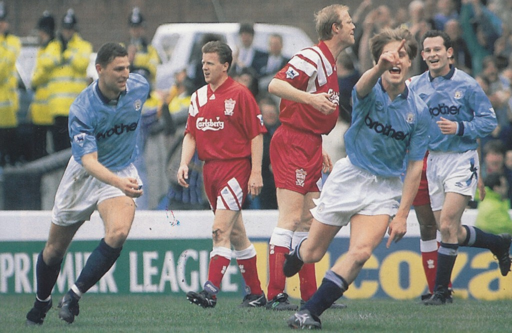 liverpool home 1992 to 93 flitcroft goal 6