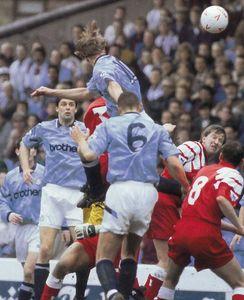 liverpool home 1992 to 93 prog flitcroft goal