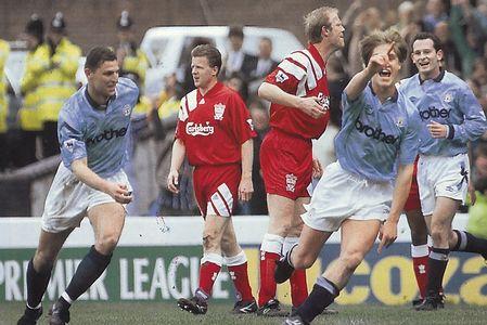 liverpool home 1992 to 93 prog flitcroft goal2