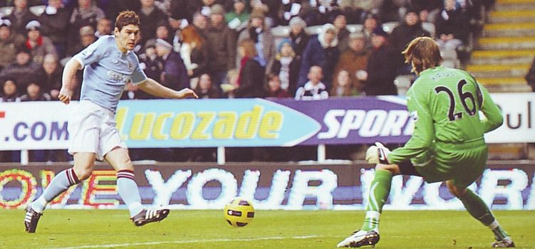 newcastle away 2010 to 11 barry goal