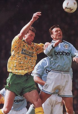 norwich home 1993 to 94 action
