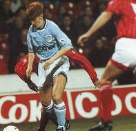 notts forest away Coca cola cup 1993 to 94 action