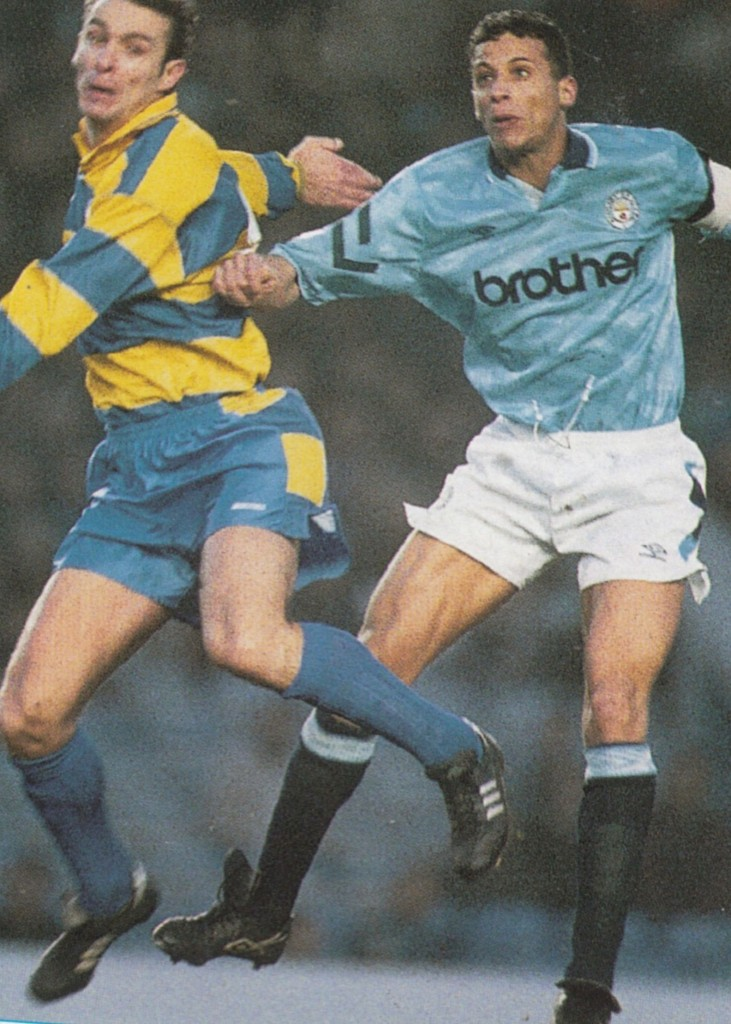 reading home fa cup 1992 to 93 action6